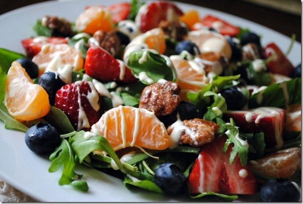 Tropical Salad with Citrus Vinaigrette