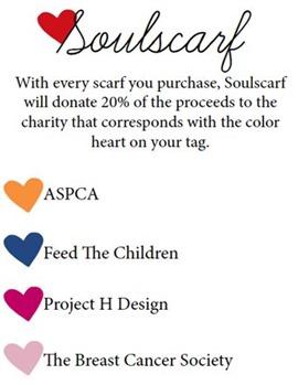 Soulscarf Donations