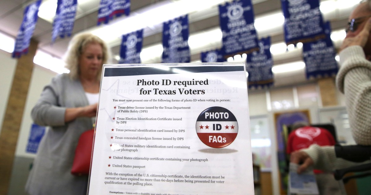 Lubbock elections office awaits state direction after court says Texas voter ID law discriminates