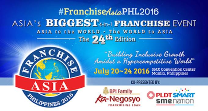 Franchise Asia Philippines 2016