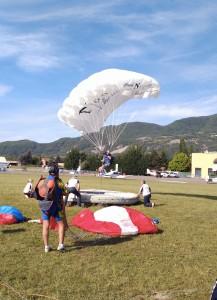 1ère étape de la Coupe de France 2016 de précision d'atterrissage à Gap-Tallard