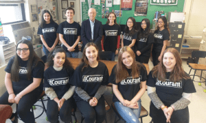PCLI's Bleyer Mentors Commack Journalism Student