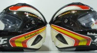 Diseo de los cascos de Antonio Maeso en el Tourist Trophy 2013