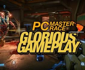 PCMR Glorious Gameplay DOOM 1