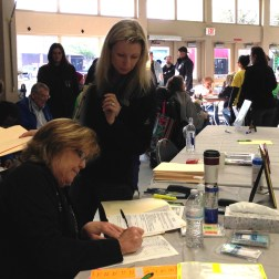 Dental Services Check-In Volunteers