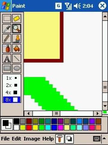 PDAcraft Paint for windows mobile PDA