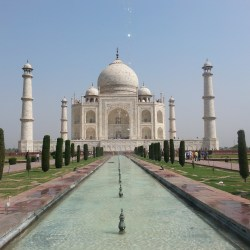Gotta see the Taj Mahal of course :)