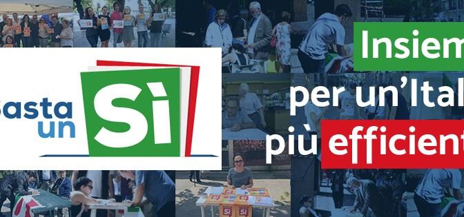 Referendum, verso il 4 dicembre. Le prossime iniziative. #bastaunsi