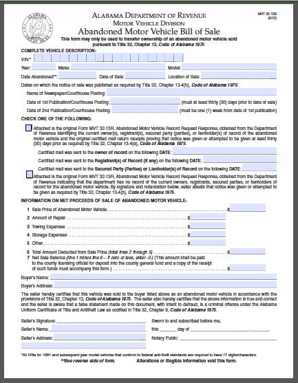 Warranty Bill of Sale Form | Free Fillable PDF Forms