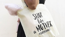shop like a mother bag