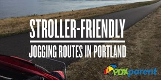 stroller friendly jogging routes portland