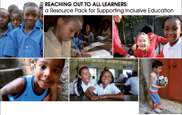 "New IPB Training Tools - ""Reaching Out to All Learners: a Resource Pack for Supporting Inclusive Education"""
