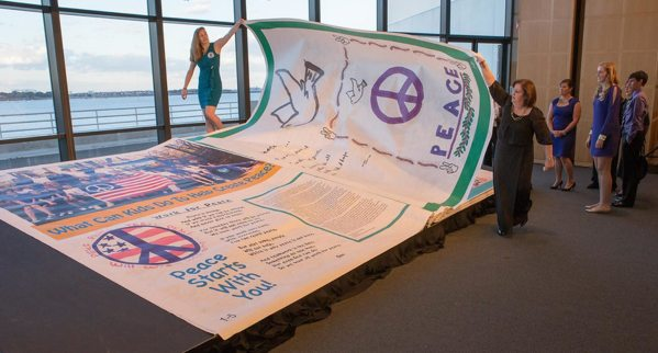 """The Big Book: Pages for Peace"" (world's biggest book!) Kicks Off Global Peace Tour"