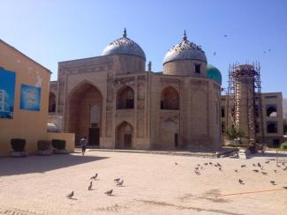 The 13th Century Sheikh Maslihaddin Mausoleum, Khojand, Tajikistan