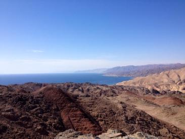 A view of Taba, Egypt from Mount Tzefahot, Eilat, Israel. PC: Eddie Grove
