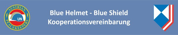 Homepagetitel Blue Shield Kooperation