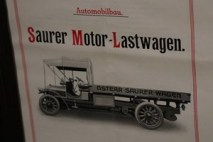 1910 der 1. LKW im Oberland