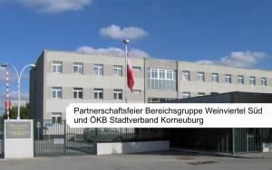 10 jährige Partnerschaft zwischen VÖP Bereichsgruppe Weinviertel Süd und ÖKB Stadtverband Korneuburg @ DABSCH-Kaserne | Korneuburg | Niederösterreich | Österreich