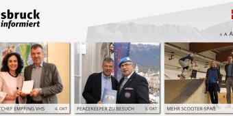 LL Tirol BM Georg Willi 3. Okt. 2018
