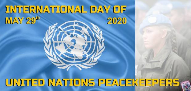 GrößenänderungUN Peacekeepers Day