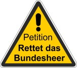 Petition Rettet das Bundesheer