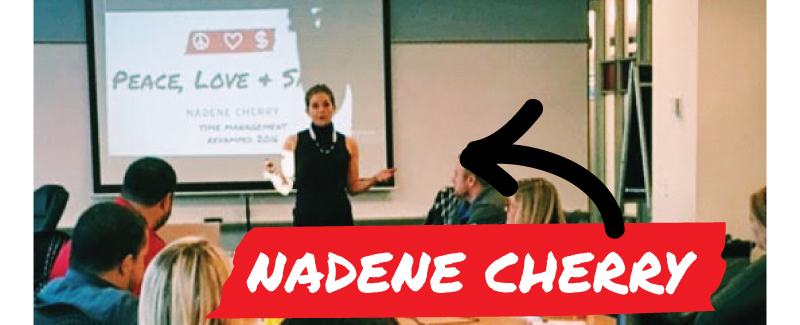 peace love sales - Nadene Cherry