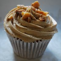 Coffee cupcakes are the perfect tea time treat! (photo by Clare Margary)