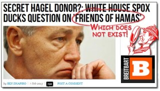 "Breitbart/Shapiro ""Friends of Hamas"" debacle"