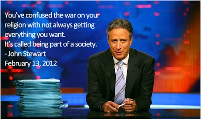"""""""You've confused a 'war on your religion' with 'not always getting everything you want.'"""