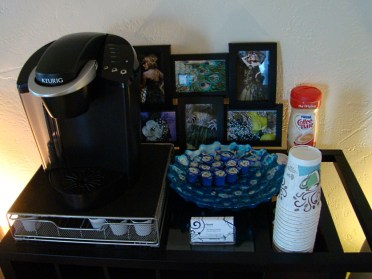 Complementary Coffee Station