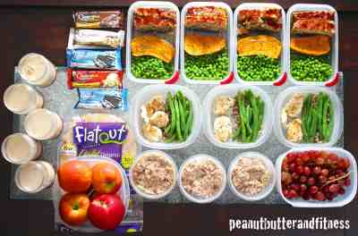 Meal Prep (from last week!) - Peanut Butter and Fitness