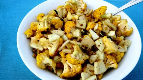 Cauliflower w/ Apples, Sage and Walnuts