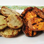 Grilled Potato Chips
