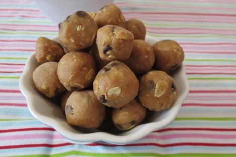 Peanut Butter Chocolate Chip Pretzel Balls