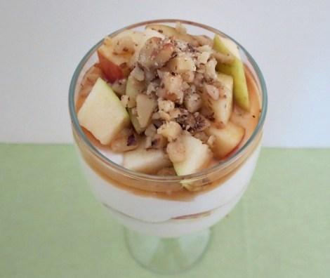 Apple Cinnamon and Maple Syrup Greek Yogurt