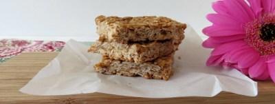 Peanut Butter and Honey Oat Bars