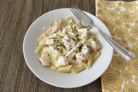 Three Chicken Chicken Alfredo