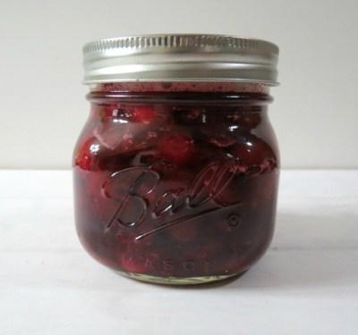 Cherry Quick Jam