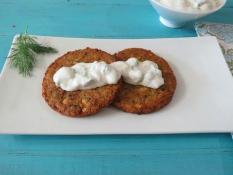 Mediterranean Chickapea Burger