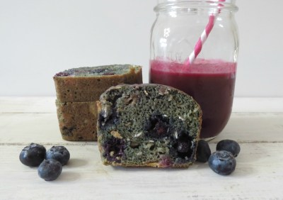 Power Garden Berry Quick Bread