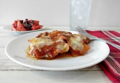 Skillet Meat Lasagna