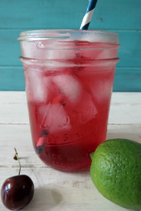 Cherry Lime Soda