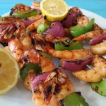 Tony's Seafood Market served with a side of Grilled Cajun Shrimp & a Giveaway