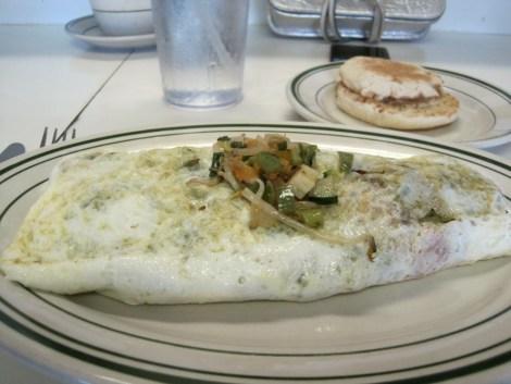 Ten Vegetable Egg White Omelet