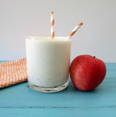Caramel Apple Protein Smoothie