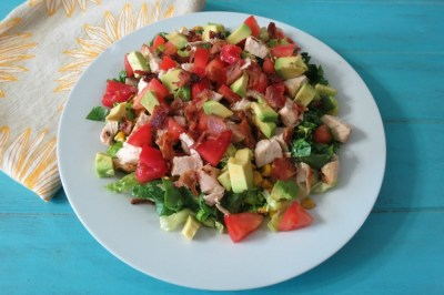 Chicken and Bacon Chopped Salad
