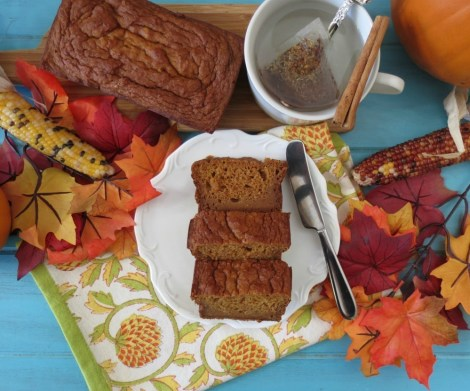 Pumpkin Bread  (Egg less)