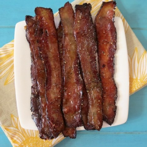 Maple Glazed Bacon