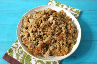 Cornbread Apple and Sage Stuffing