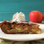 Naked Apple Vanilla Pie